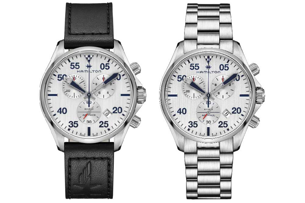 Hamilton Khaki Pilot Air Race Chrono Quartz, versiones