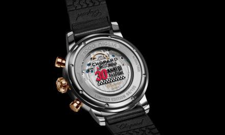 Chopard celebra los 30 años de la Mille Miglia con nuevos relojes