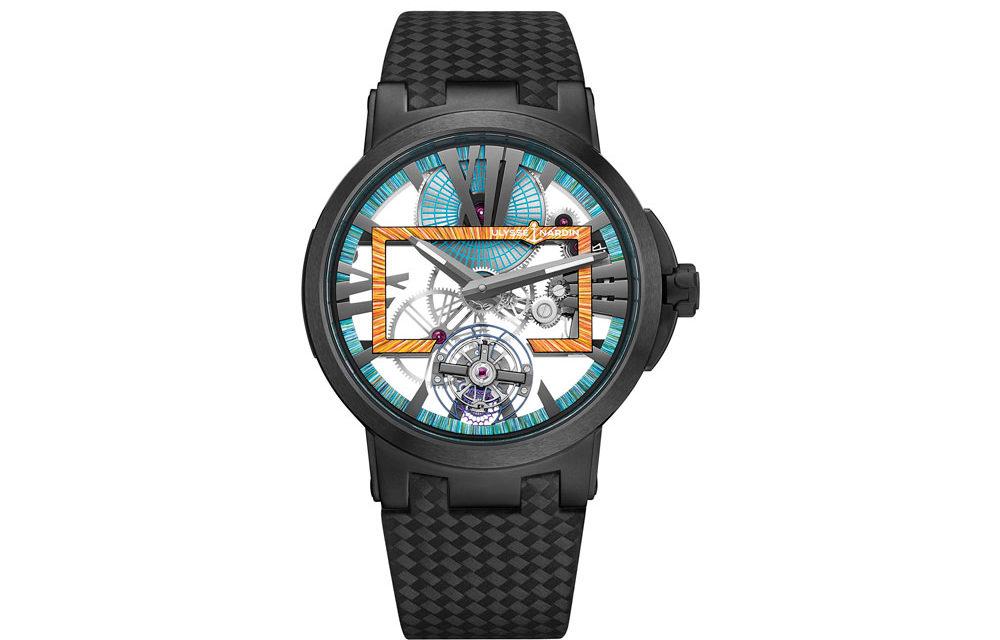Ulysse Nardin presenta el Executive Skeleton en Cannes.