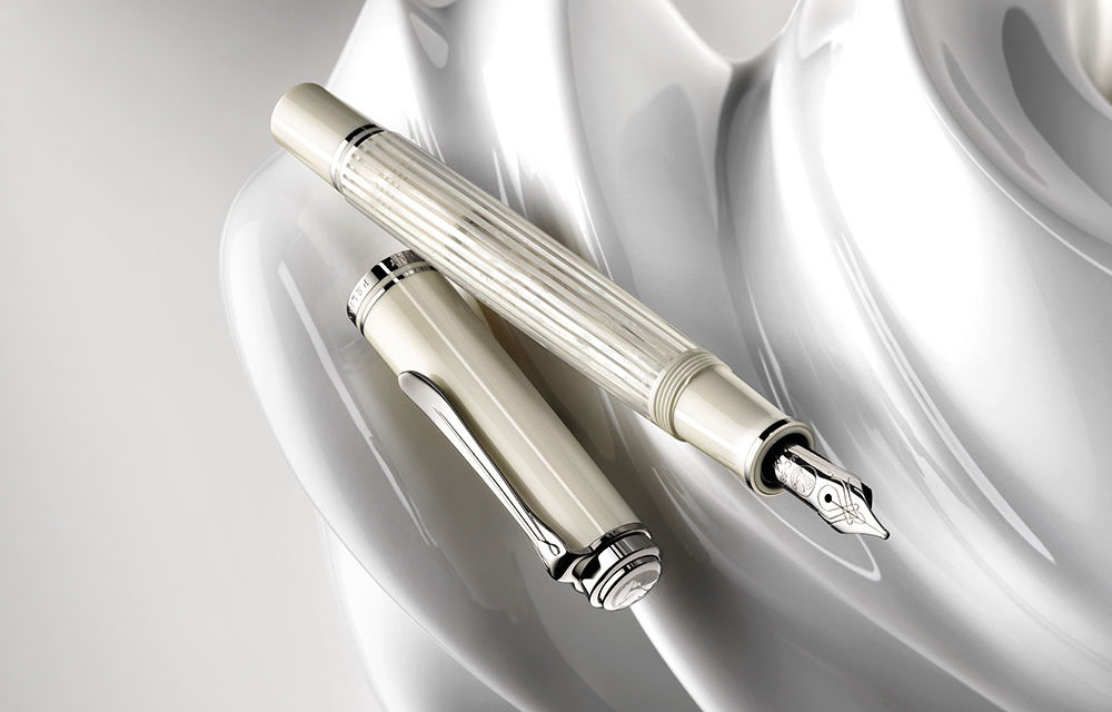 Pelikan Souverän 605 White Transparent