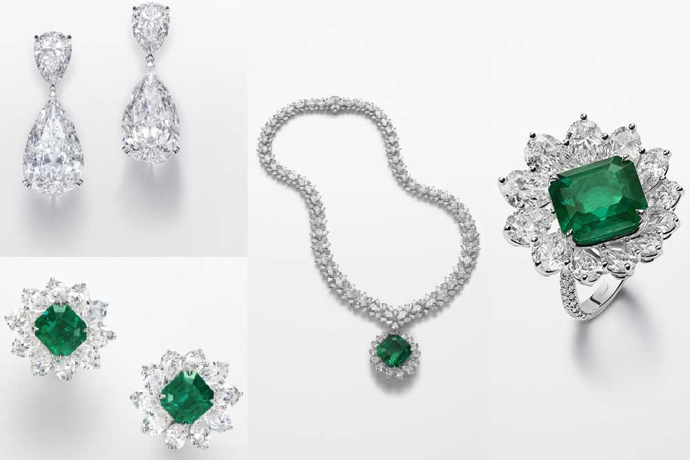 Chopard colección Red Carpet 2018 Esmeraldas y diamantes