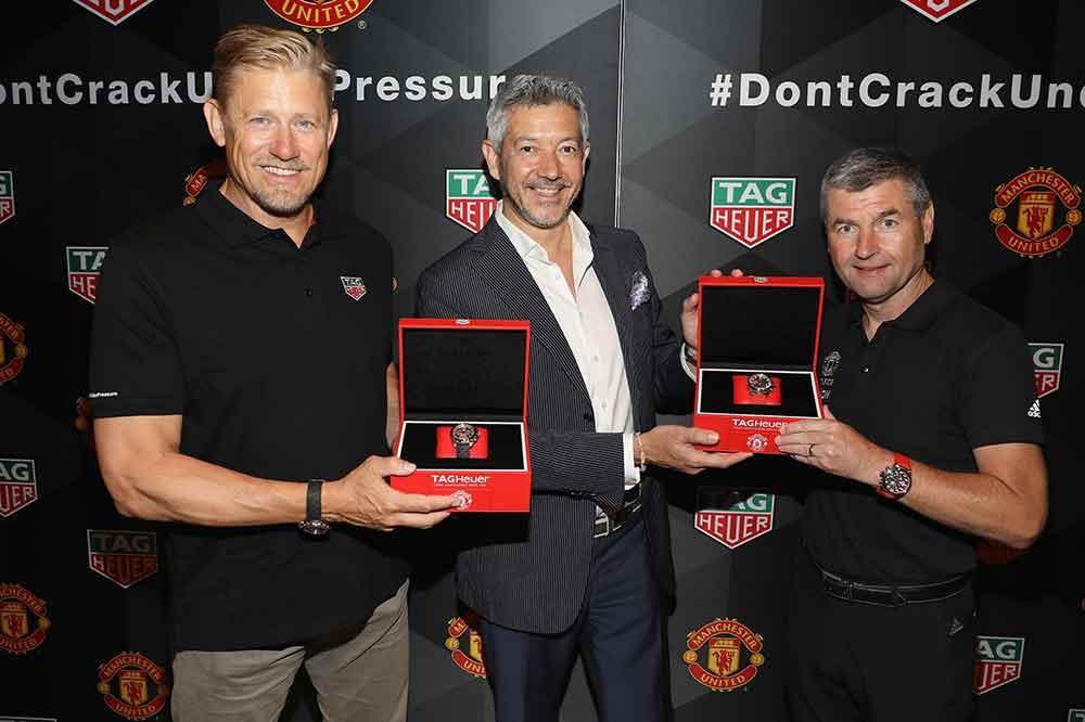 TAG Heuer Special Edition Manchester United, presentación