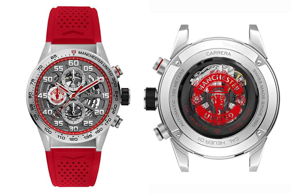TAG Heuer Carrera Heuer 01 Special Edition Manchester United