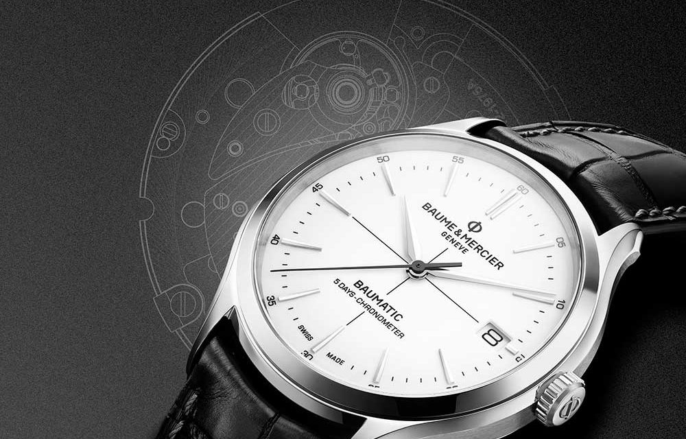 Baume & Mercier presenta Clifton Baumatic.