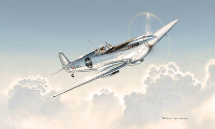 IWC, patrocinador de la vuelta al mundo del Silver Spitfire
