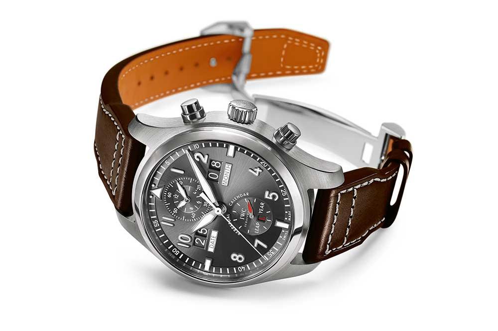 IWC Reloj de Aviador Spitfire Calendario Perpetuo Digital Fecha-Mes