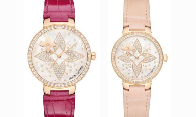 Louis Vuitton Tambour Slim Star Blossom