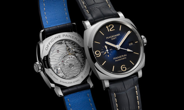 Officine Panerai Radiomir 1940 3 Days. Colores del mar