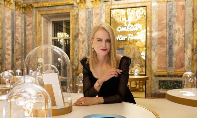 Nicole Kidman protagoniza Her time de OMEGA