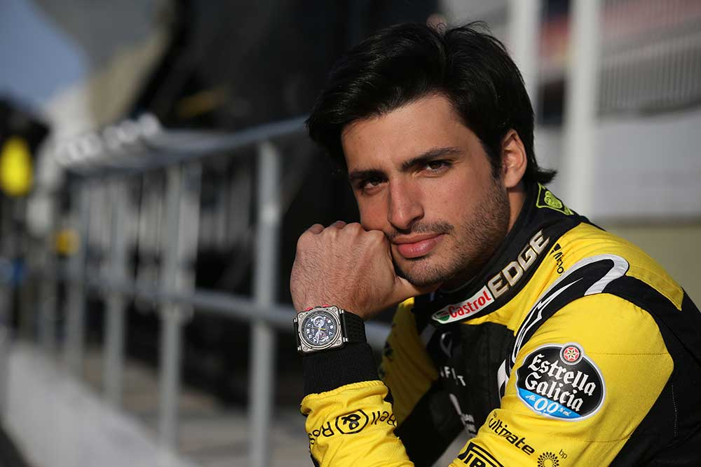 Bell & Ross BRV2-94 RS18 y Carlos Sainz jr.