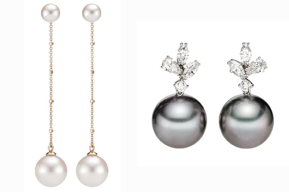 Pendientes con perlas de Wempe