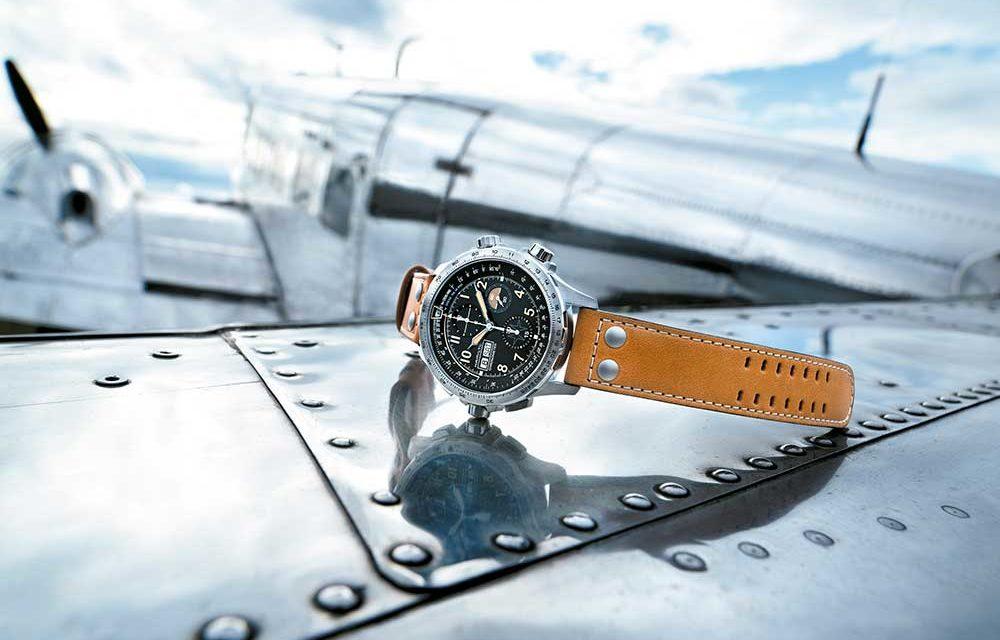 Hamilton celebra un siglo de evolución en la aviación con el Khaki X-Wind