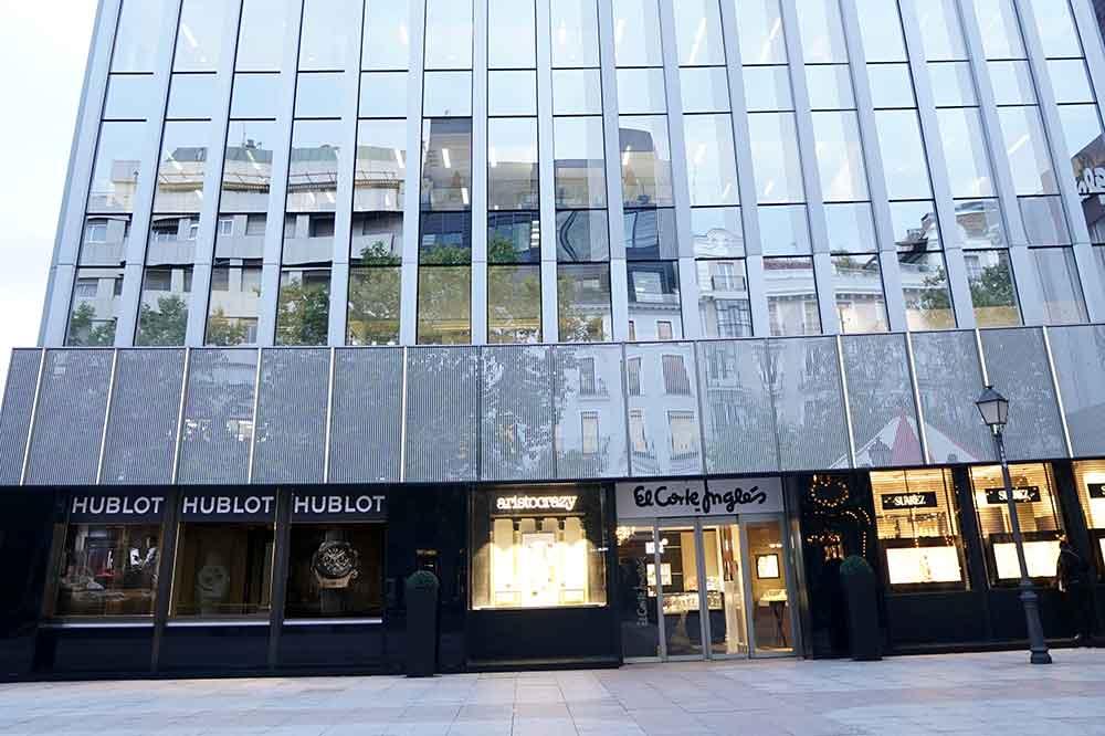 Boutique Hublot Madrid, ubicación