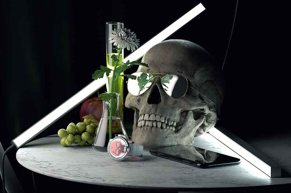 Relojería Independiente HYT Skull 48.8MM Red
