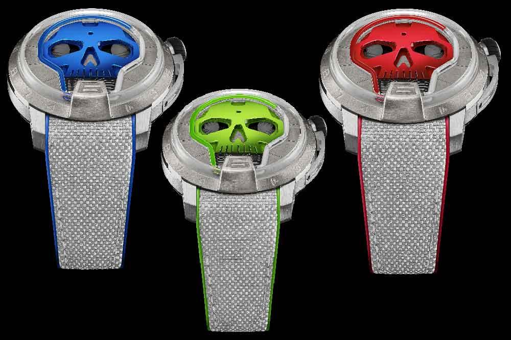 Relojería Independiente. HYT Skull 48.8MM Collection