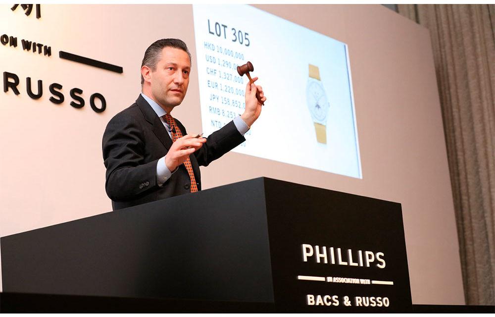 Subastas: Christies y Phillips en Ginebra