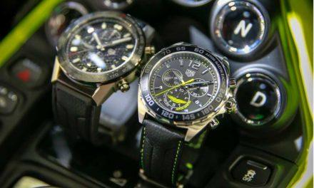 TAG Heuer y Aston Martin lanzan una novedad mundial.