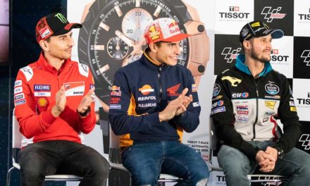 Tissot T-Race se prepara para el inicio de la temporada de Moto GP