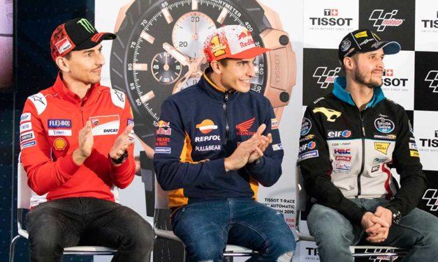 Tissot T-Race celebra el final de la temporada de Moto GP
