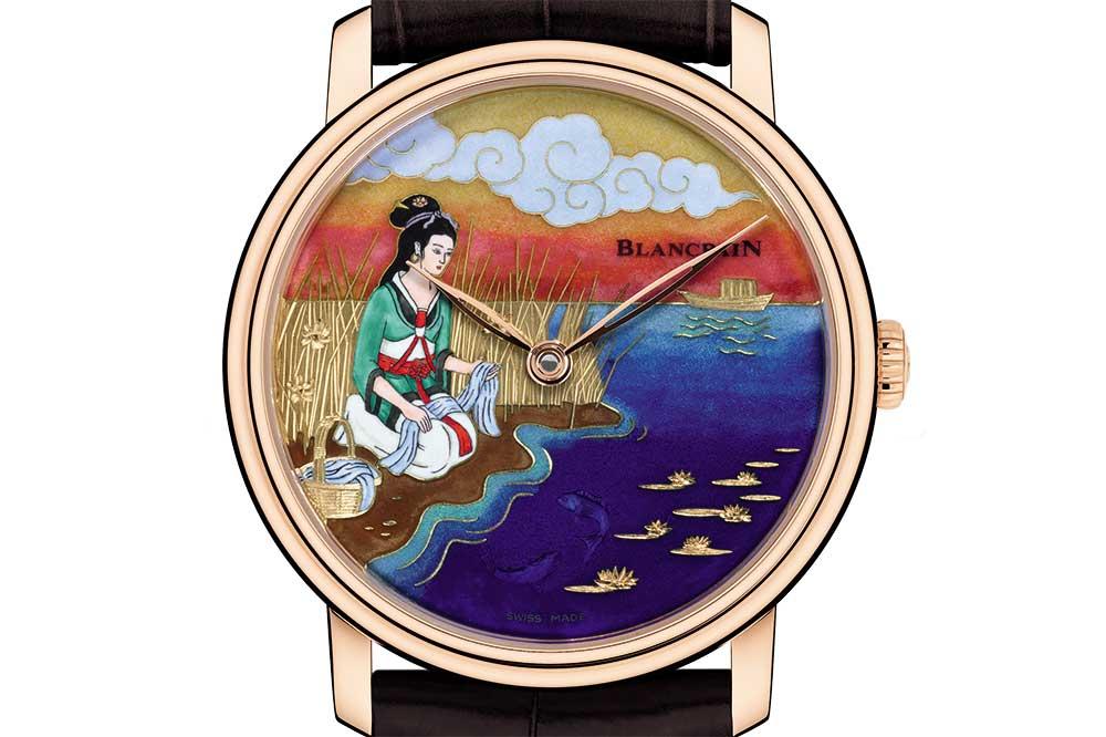Blancpain Great Beauties, homenaje a Xi Shi