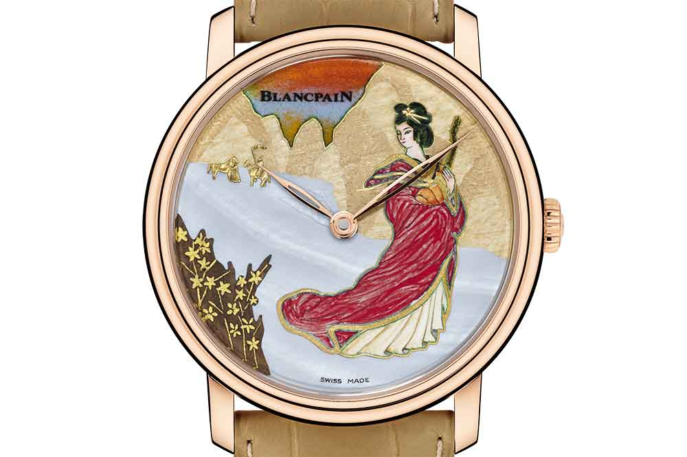Blancpain Great Beauties, homenaje a Wang Zhaojun