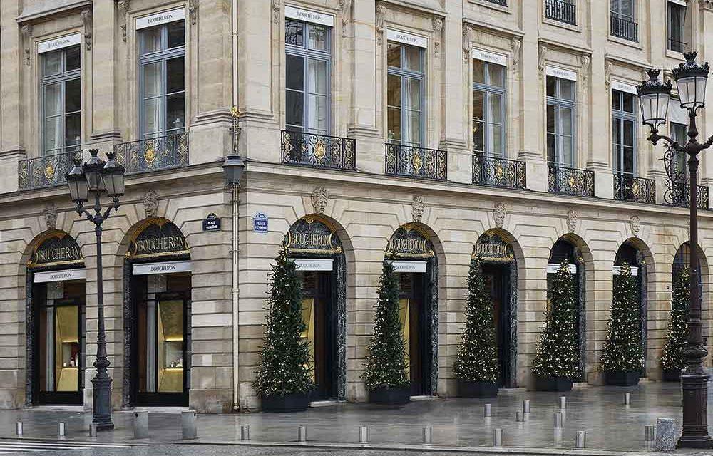 Boucheron renueva su mítico espacio en Place Vendôme