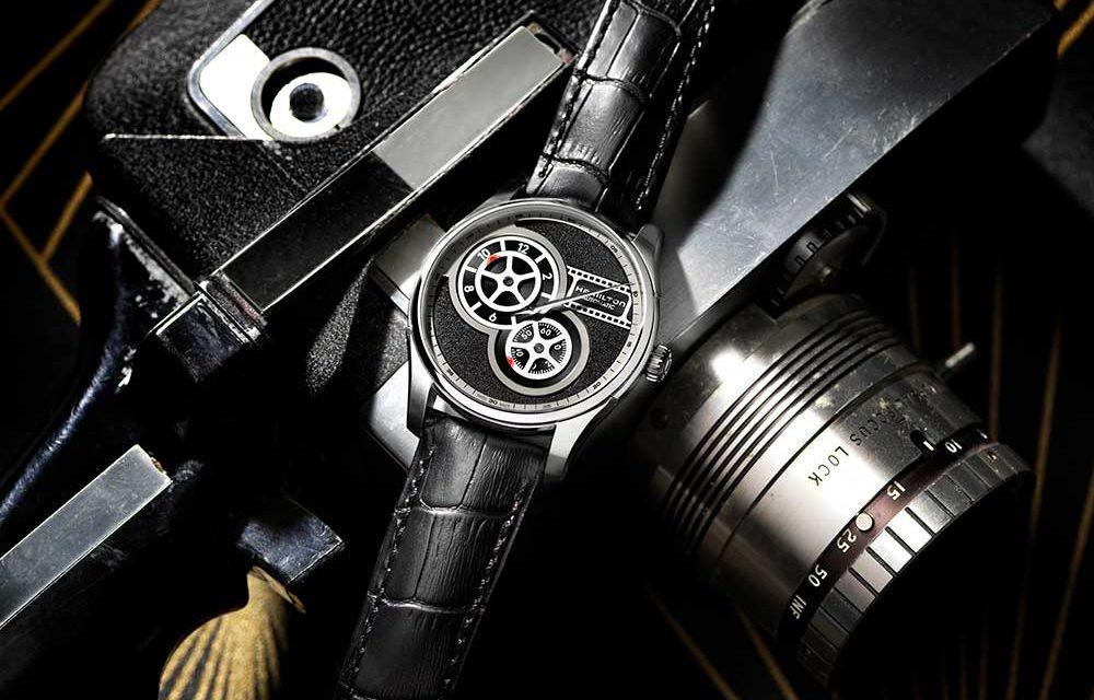 Hamilton presenta un reloj de cine.