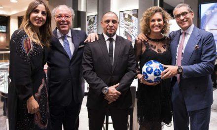 Hublot inaugura su primera boutique en España con Roberto Carlos