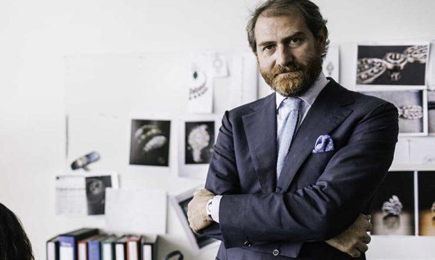 Fabrizio Buonamassa, director del equipo de diseño de relojería Bvlgari