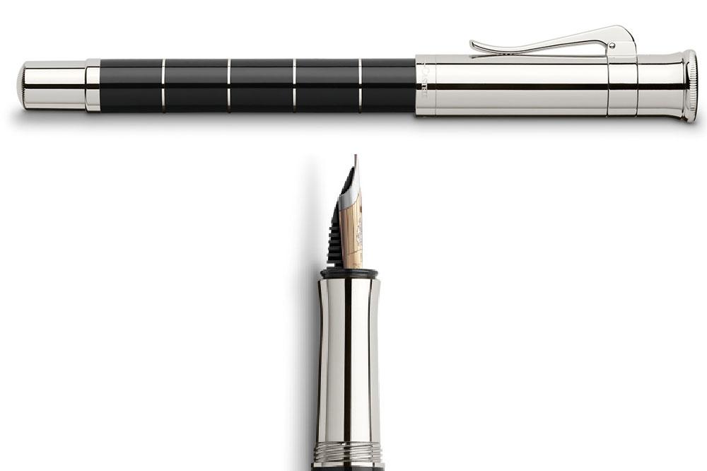 Graf von Faber-Castell Classic Anello, detalles estilográfica
