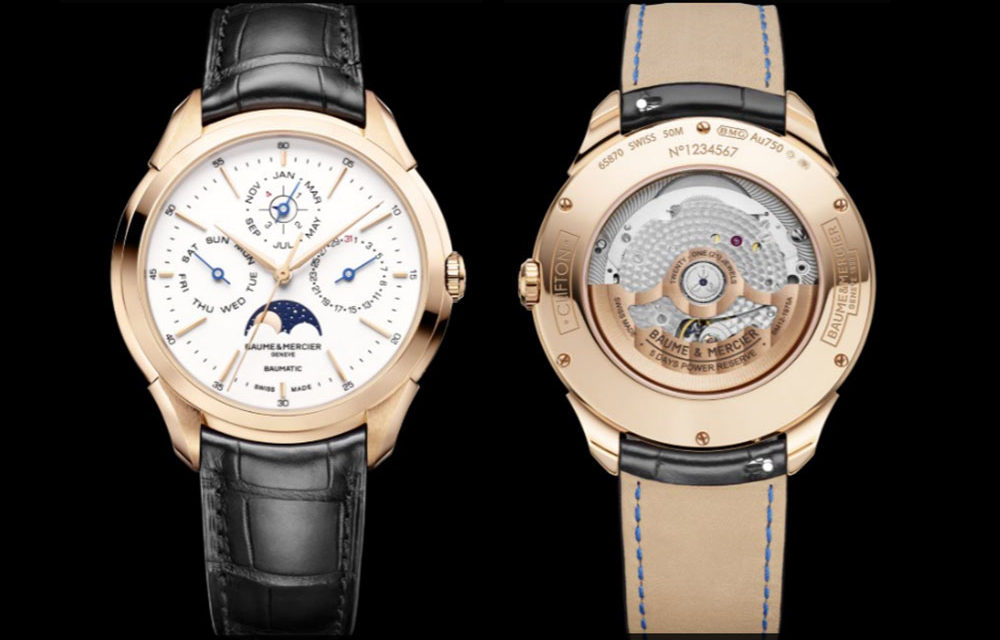 SIHH 2019: Baume & Mercier Clifton Baumatic Calendario Perpetuo