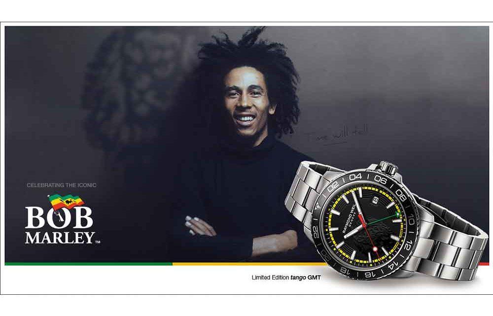 Raymond Weil, homenaje a Bob Marley