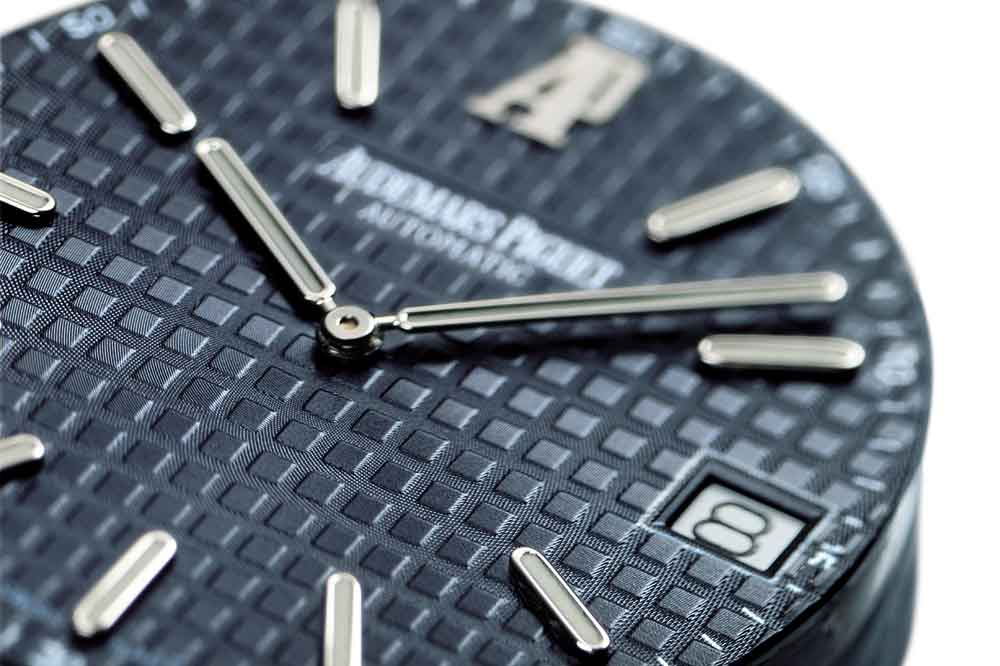 Audemars Piguet Royal Oak, detalle esfera