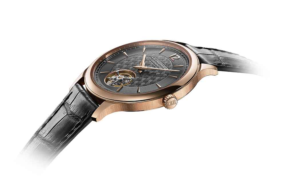 Chopard L.U.C Flying T Twin, detalle grosor