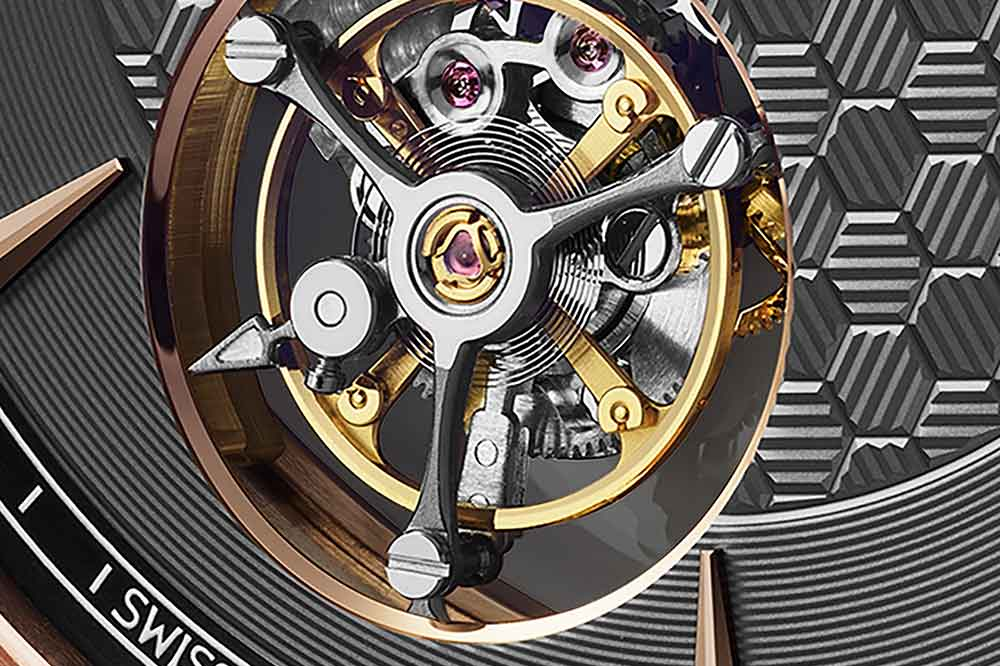 Chopard L.U.C Flying T Twin, detalle tourbillon volante