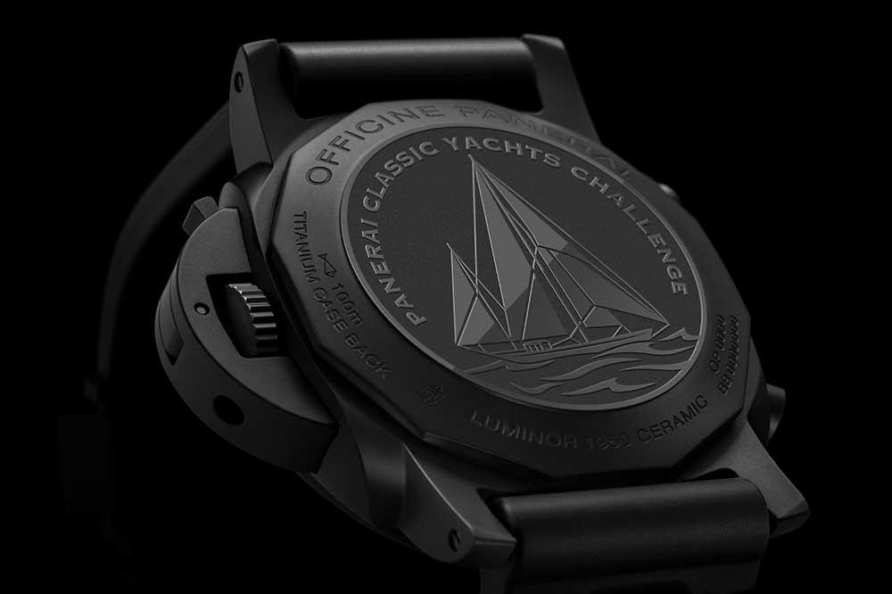Panerai Luminor Yachts Challenge, fondo modelos titanio y cerámica negra
