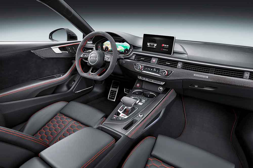 Interior del Audi RS5