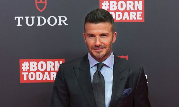 David Beckham presenta #BornToDare de Tudor