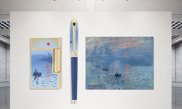 S.T. Dupont Monet, homenaje al padre del impresionismo Claude Monet