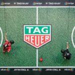 TAG Heuer sorprende con el futbol vertical