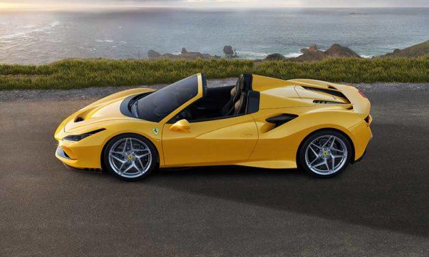 Ferrari F8 Spider. La evolución del deportivo descapotable