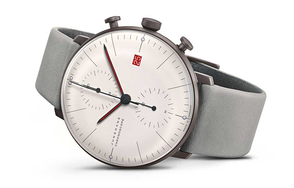 Junghans max bill Chronoscope 100 Jahre Bauhaus