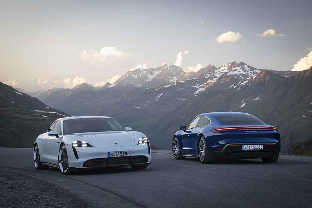 Porsche Taycan Turbo S y Taycan Turbo
