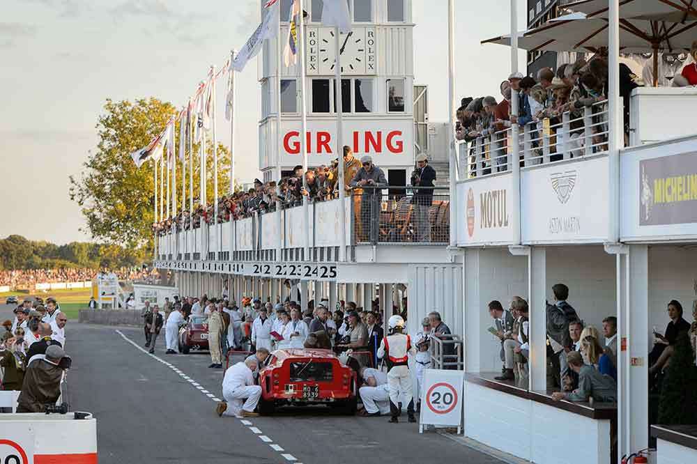 Goodwood Revival 2019, boxes