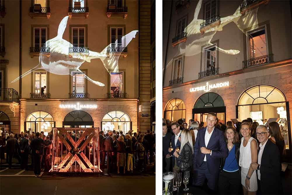 Ulysse Nardin, inauguración Boutique Ginebra