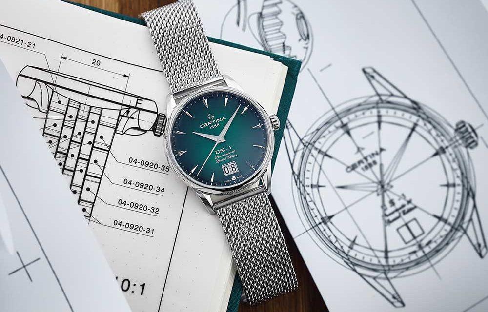 Certina DS-1 Big Date 60 aniversario, un reloj en el que confiar.