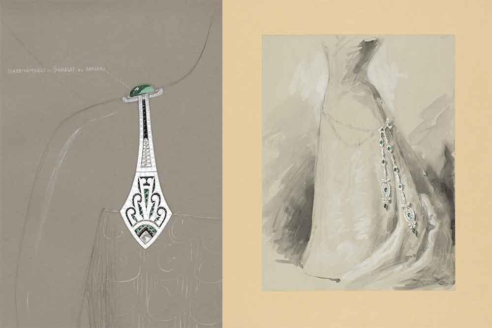 Exposición Chaumet Autrement, joyas accesorios cuerpo