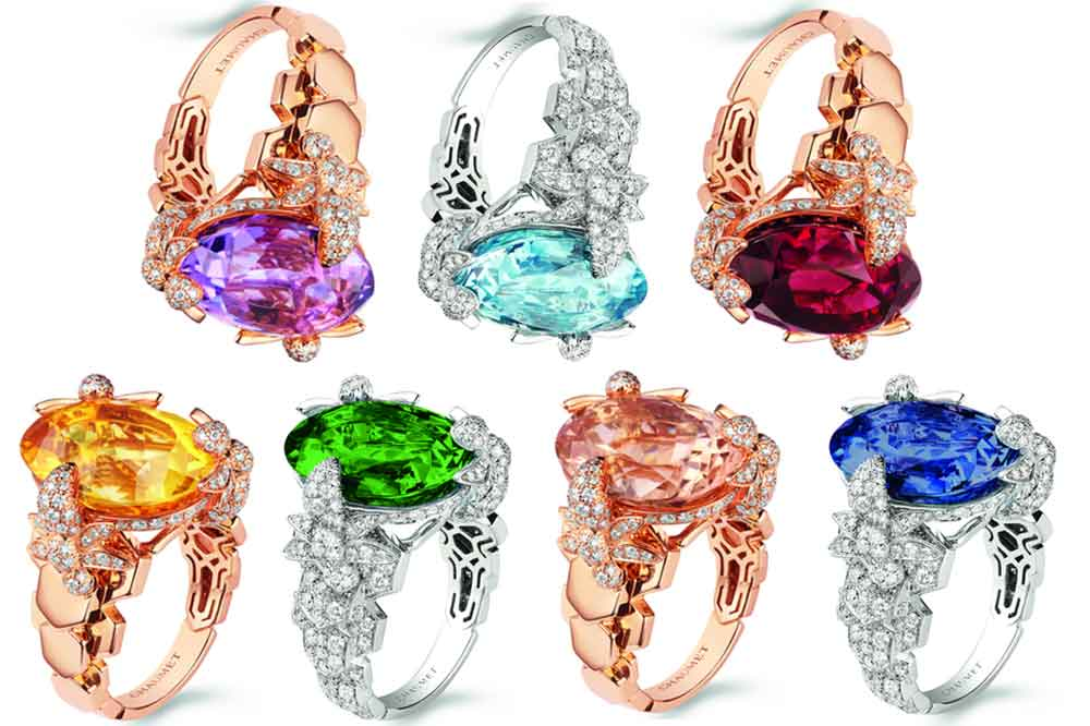 Chaumet, anillos de cóctel Exquises