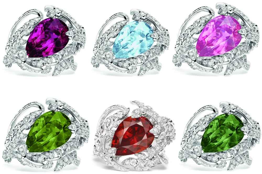 Chaumet, anillos de cóctel Surprises