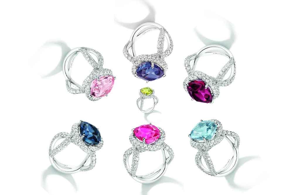 Chaumet, anillos de cóctel Liens d'Amour
